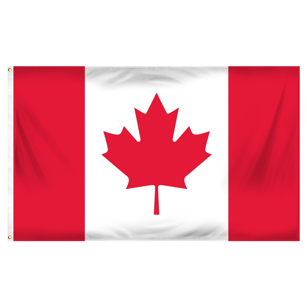 Canada Horizontal Streamers and Flags