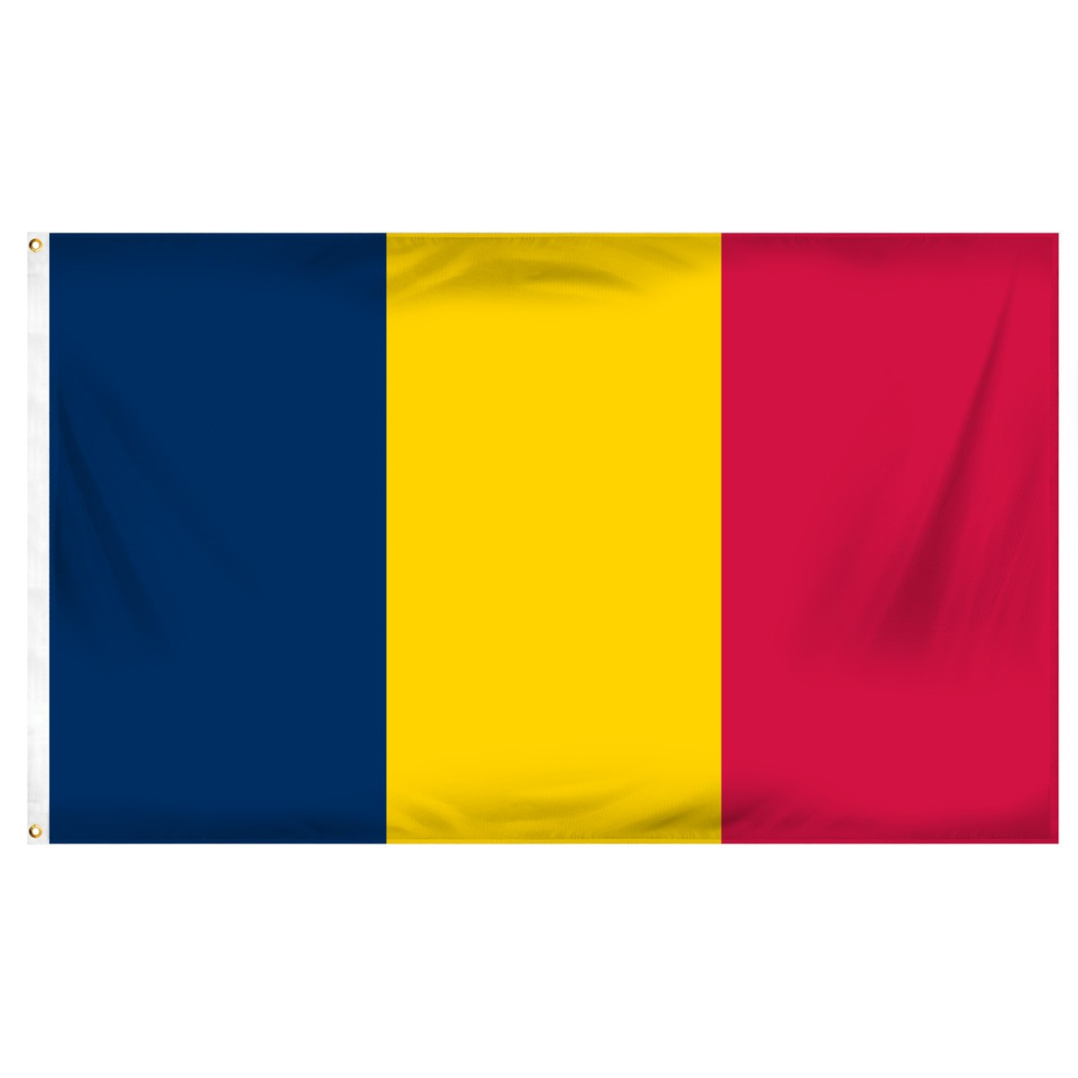 Chad Satin Office Flags