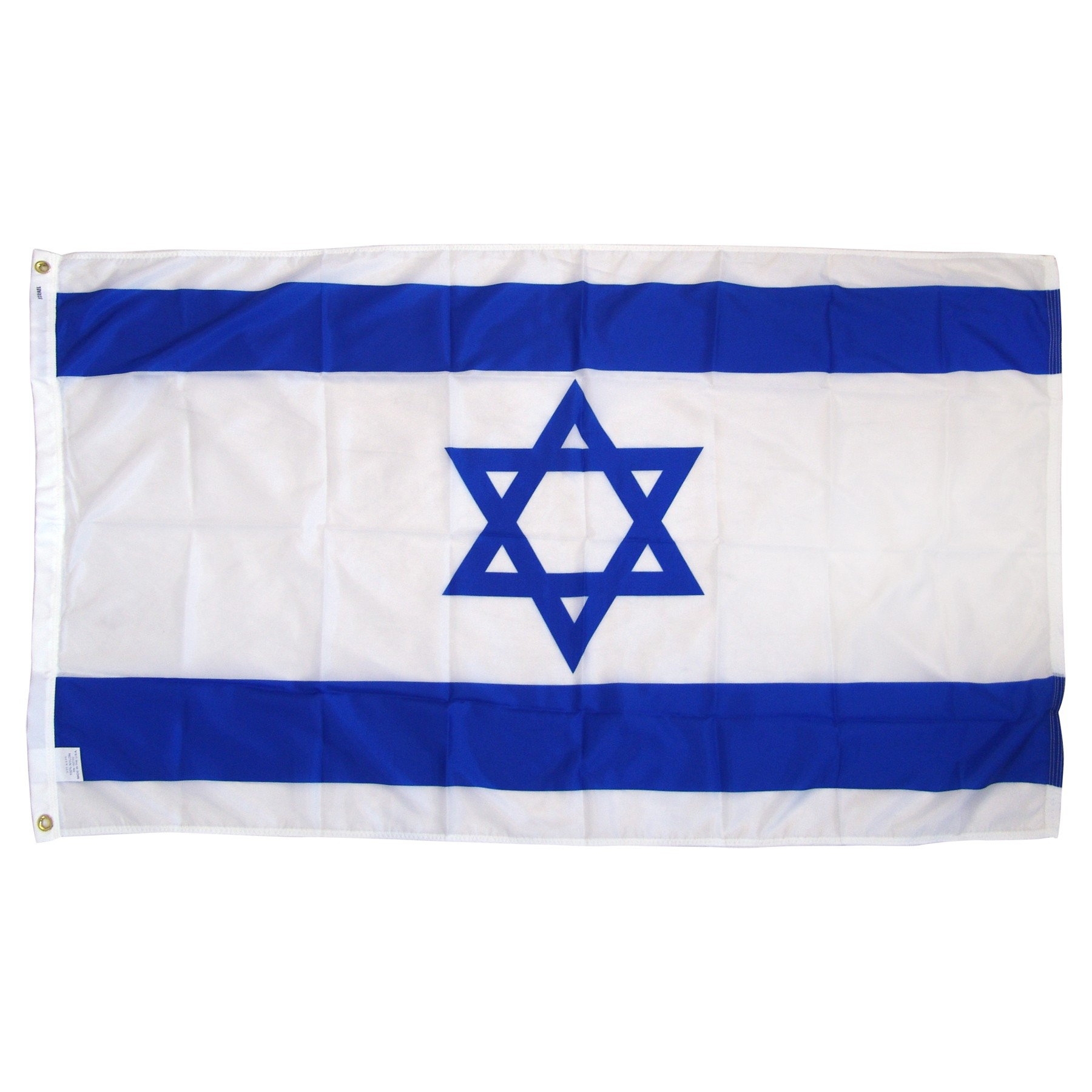Israel Flag 3ft x 5ft Nylon