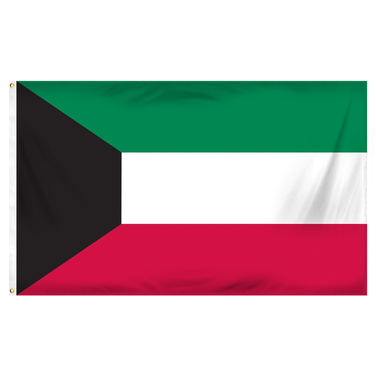 Kuwait Single Table Flag