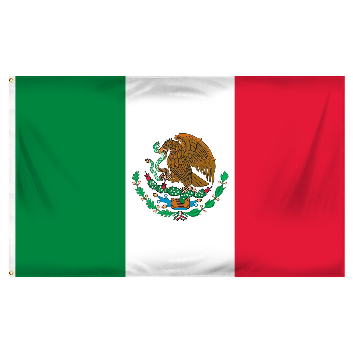 Mexico Triangle Flags and Pennants