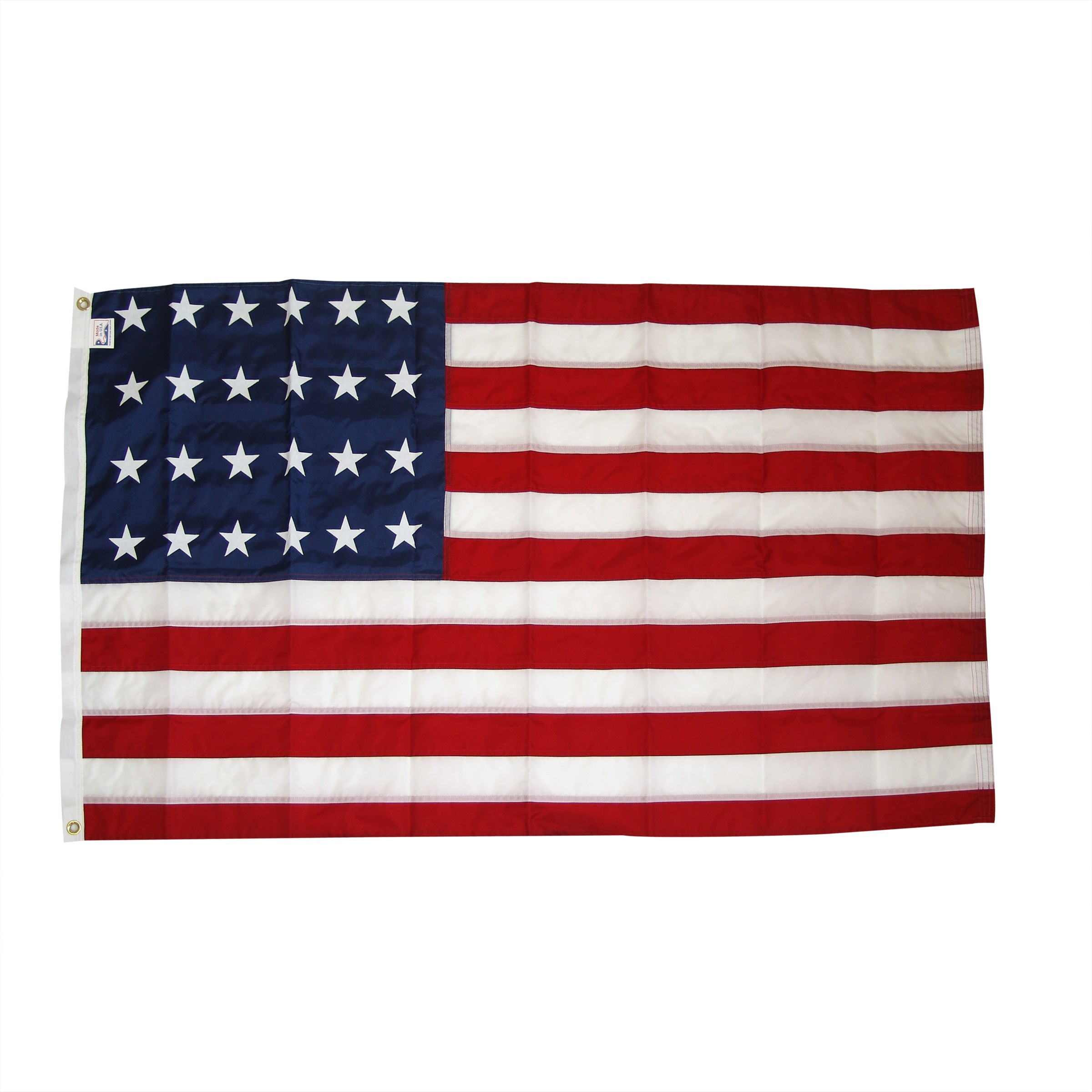 USA 24 Star 3ftx5ft Nylon flag